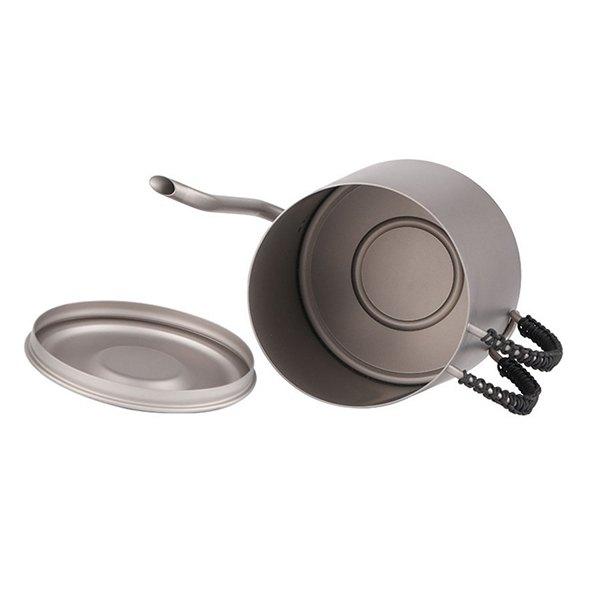 Чайник титановый для дома и кемпинга River Scout TT-01t 950 мл